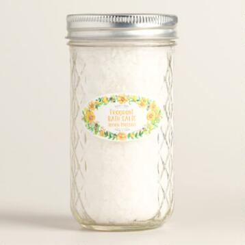 Bird and Bee Lemon Flower Bath Soak
