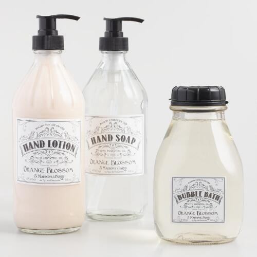 Maison Orange Blossom Bath and Body Collection
