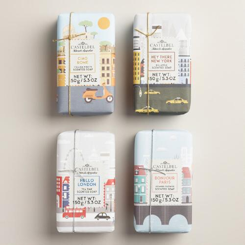 Castelbel Cities Bar Soap Collection
