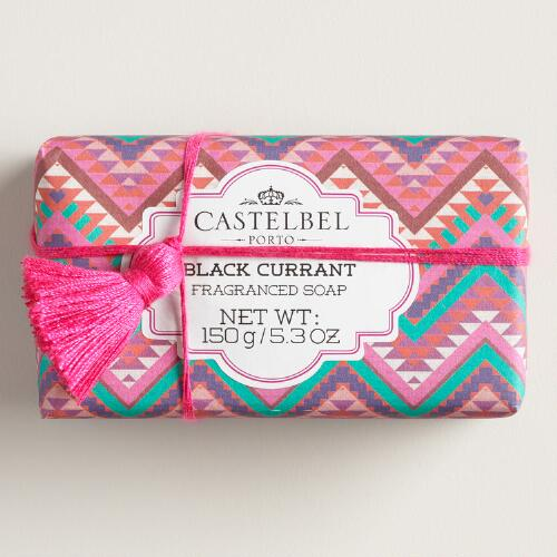 Castelbel Black Currant Tassel Bar Soap
