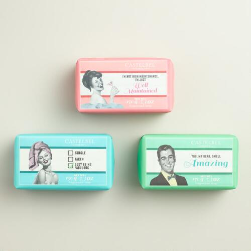 Castelbel Cheeky Message Bar Soap Collection