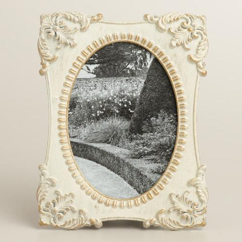 White Metal Lucy Frame