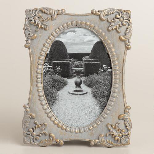 Gray Metal Lucy Frame