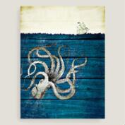 Octopus Canvas Wall Art