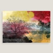 Watercolor Landscape Canvas Wall Art
