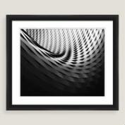 Architects Curve Framed Shadowbox Wall Art