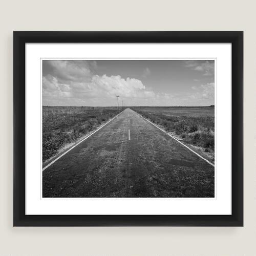 Long Road Home Framed Shadowbox Wall Art