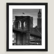 Brooklyn Bridge Framed Shadowbox Wall Art