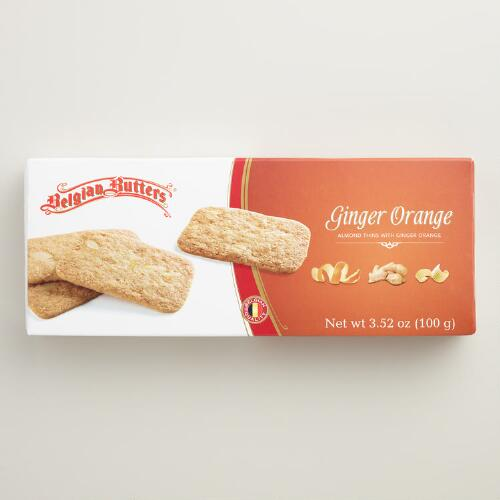 Belgian Butters Ginger Almond Thins