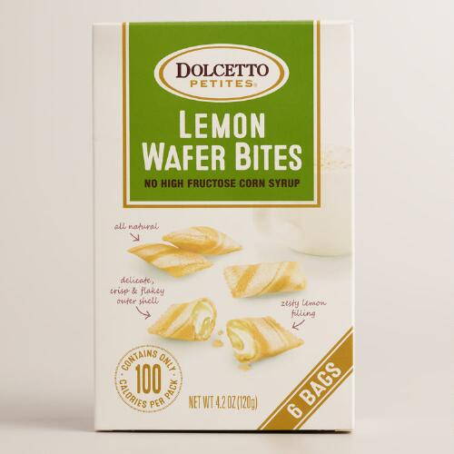Dolcetto Lemon Wafer Bites