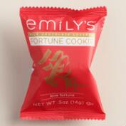 Emily's Milk Chocolate Fortune Cookies Singles