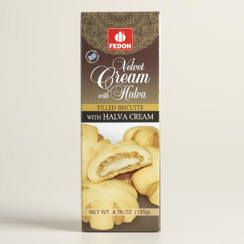 Fedon Halva Cream Filled Cookies