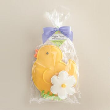Monaco Chick and Flower Cookies