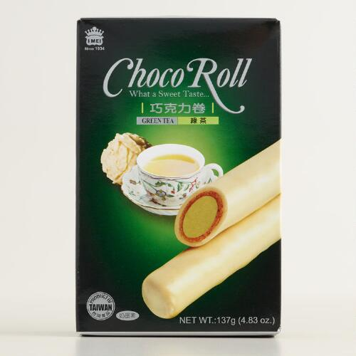 I Mei Green Tea Choco Roll