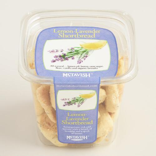 McTavish Lemon Lavender Shortbread Cookies