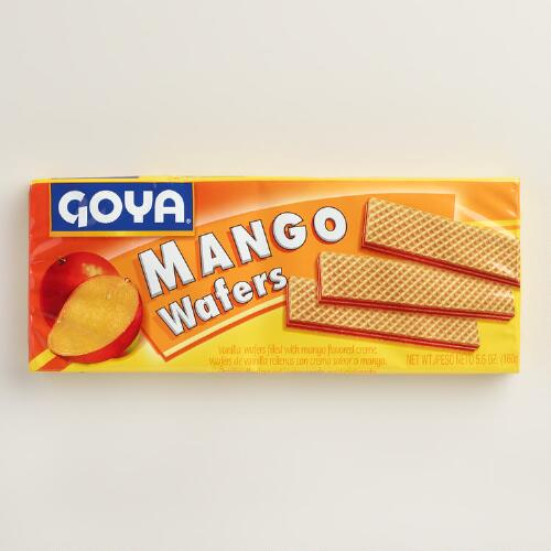 Goya Mango Wafer Cookies