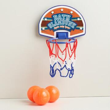 Bath Slam Dunk Basketball Set