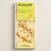 Blanxart Lemon and White Chocolate Bar