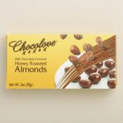 Chocolove Honey Roasted Almonds and Milk Chocolate