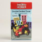 Freeway Double Decker Licorice and Fruit Gummies