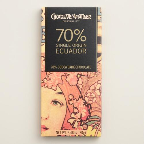 Simon Coll 70% Cacao Ecuadorian Milk Chocolate Bar