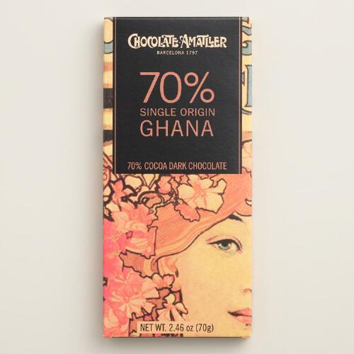 Simon Coll 70% Cacao Ghanaian Milk Chocolate Bar