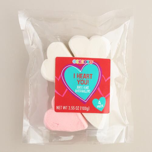 Galerie Large Marshmallow Hearts, 4 Pack