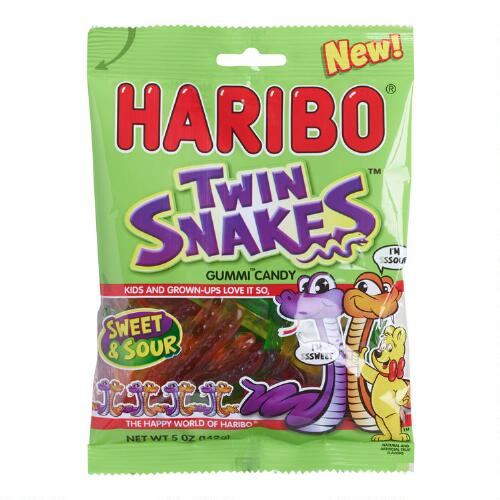 Haribo Twin Snakes Gummy Candy