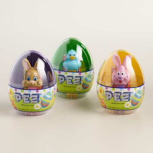 Pez Bunny Dispenser and Candy Set of 3