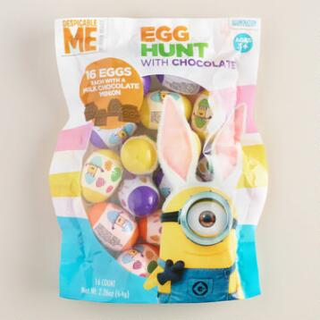 Minion Milk Chocolate Egg Hunt