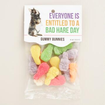 Heritage Gummy Bunny Candy Set of 4