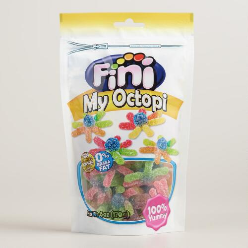 Fini Octopus Sour Jelly Candy