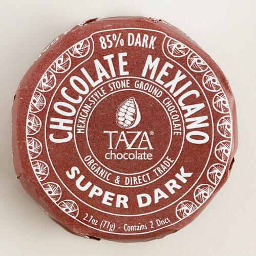 Taza Super Dark Chocolate
