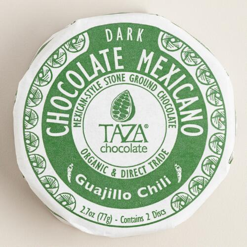 Taza Guajillo Chili Dark Chocolate