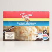 Torani Coconut Macaroon Single Serving Coffee 12 Count