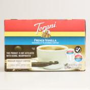 Torani French Vanilla Single Serving Coffee 12 Count