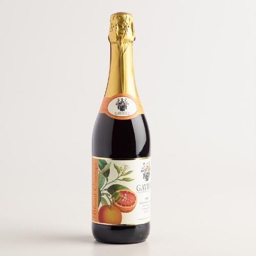 Gavioli Blood Orange Sparkling Grape Juice