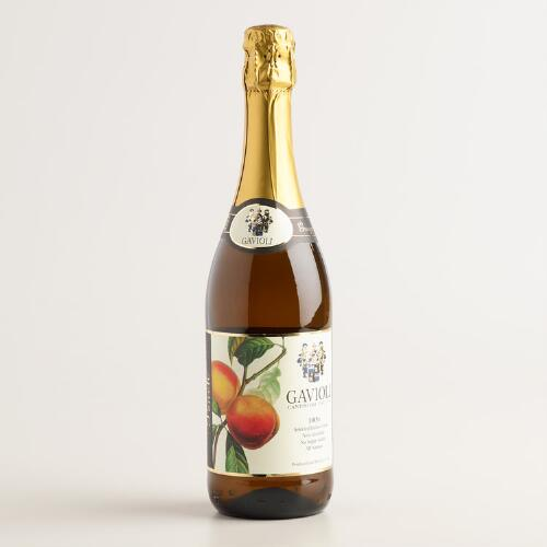 Gavioli Peach Sparkling Grape Juice