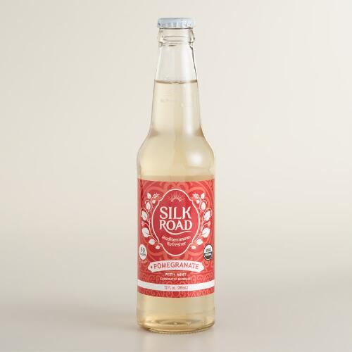Silk Road Pomegranate Mint Soda
