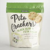 World Market Black Olive and Feta Pita Crackers