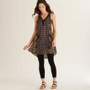 Paisley Sleeveless Nova Tunic