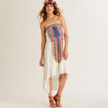 Ivory Medallion Faraa Dress