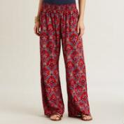 Red and Purple Floral Madison Pants