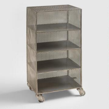Zinc 4 Shelf Yvette Storage