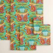 Green Santiago Table Linen Collection