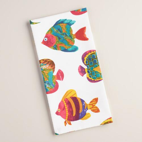 Tropical Fish Kitchen Towel