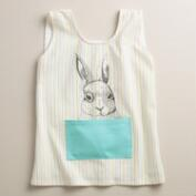Bunny Face Kids Apron