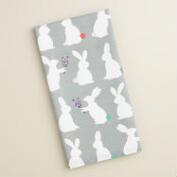 Bunny Silhouette Kitchen Towel
