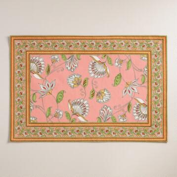 Pink Pip Floral Placemats Set of 4