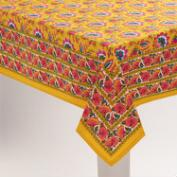 Floral Mexican Boho Tablecloth
